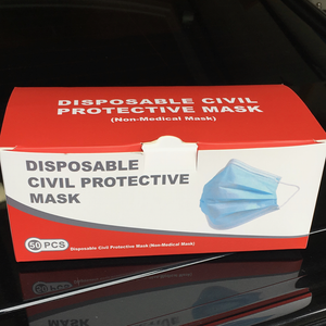 Disposable Civilian Face Mask - Box of 50
