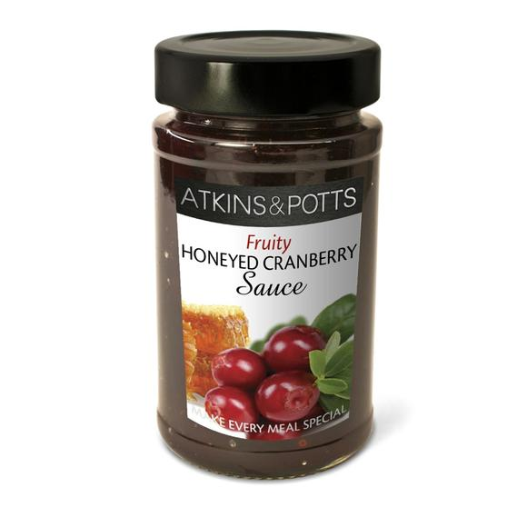 Honeyed Cranberry Sauce