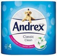 Andrex Classic Toilet Roll 4 pack