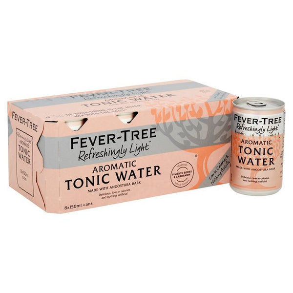 Fever Tree Aromatic Tonic Water Box