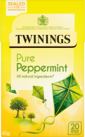 Pure Peppermint 20 Single Tea Bags 40g
