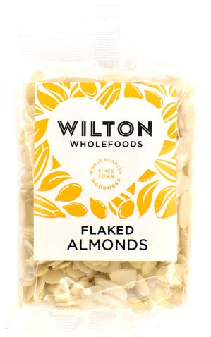 Plain Nuts ~ Flaked Almonds - 100g