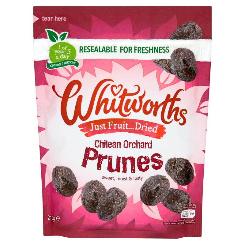 Whitworth Prunes 210g