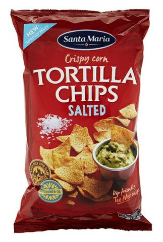 Salted Tortilla Chips - 185g