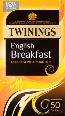 English Breakfast 50 Tea Bags 125g