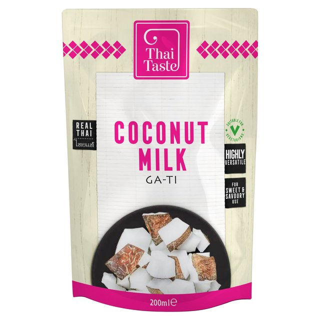 coconut milk in pouch