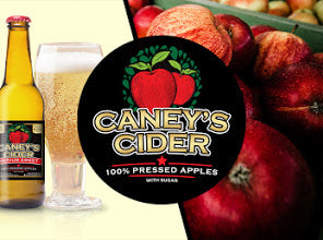 Medium Sweet Caneys cider bottle