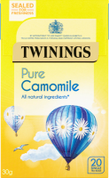 Pure Camomile 20 Single Tea Bags 30g