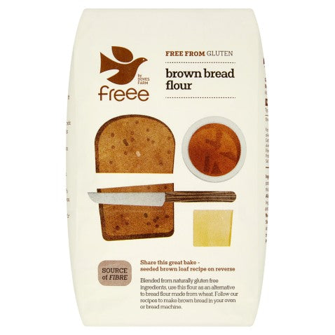 Gluten Free Brown Bread Flour - 1kg