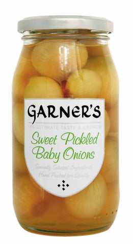Sweet Pickled Baby Onions - 454g