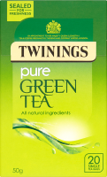 Pure Green Tea 20 Single Tea Bags 50g