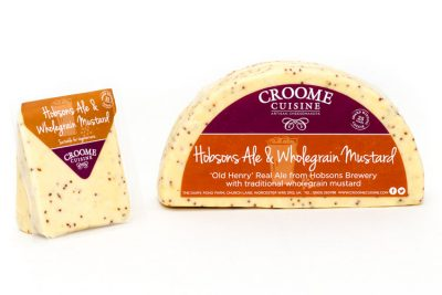 Croome Ale & Wholegrain Mustard Cheese