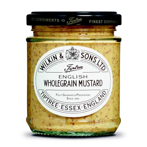 English Wholegrain Mustard - 185g