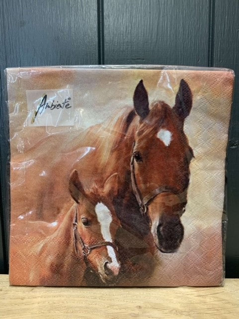 Napkins Horse/Foal Manor Farm Gifts