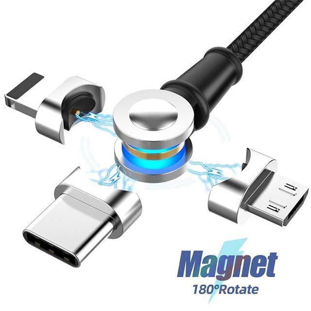 180 Degree Free Rotation Magnetic Cable