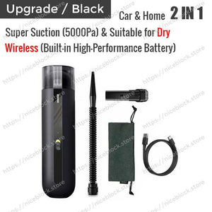 [BUY 2 Get Extra 10% OFF!!] Wireless Vacuum Cleaner For Car&Home