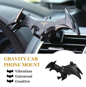 Bat wings car phone holder