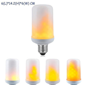 Led Golden Flickering Flame Gravity Sensor Flame Light