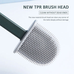 Soft Flat Head Toilet Brush