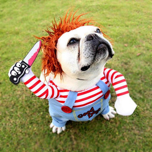 [Buy 2 Get 10% off]Dog Deadly Doll Costume