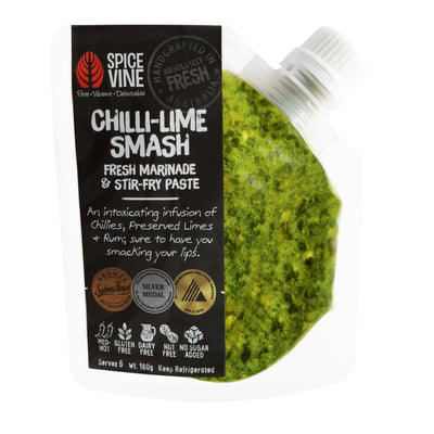 Chilli-Lime Smash Marinade & Stir-fry Paste