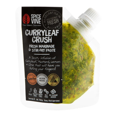 Curryleaf Crush Marinade & Stir-fry Paste