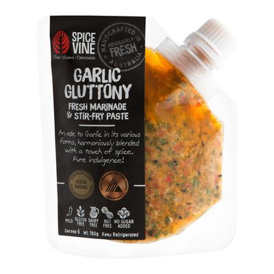 Garlic Gluttony Marinade & Stir-fry Paste