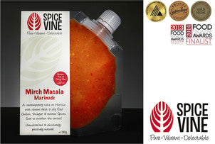Spice Vine marinades & Stir-fry pastes, Sauces, hampers and gift certificates