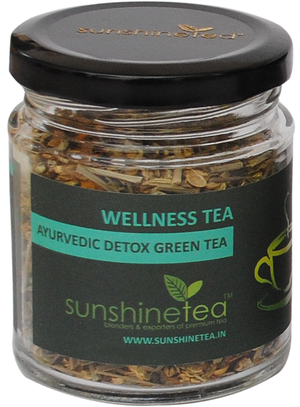 AYURVEDIC DETOX GREEN TEA