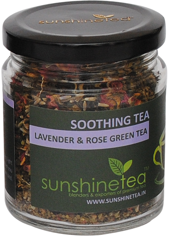 LAVENDER & ROSE GREEN TEA