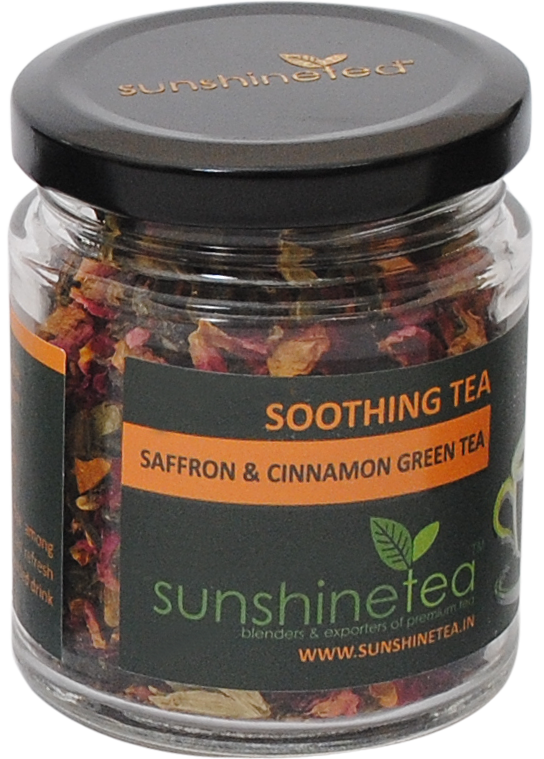 SAFFRON & CINNAMON GREEN TEA