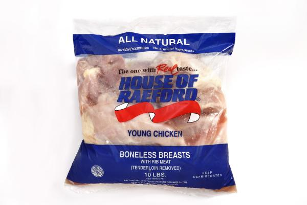 10 lb Retail Bag Fresh Boneless Breast ( Wilmington Delivery 2/26-2/27/21 )
