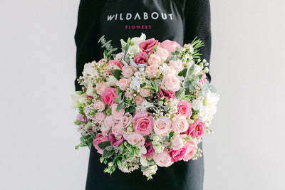 Dusty Pink Rose Bouquets