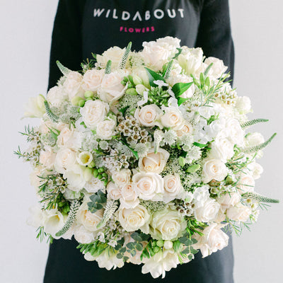 scented hand-tied bouquets