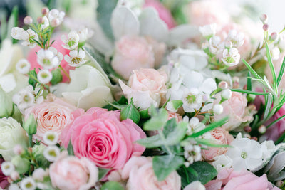 Small White Flower Bouquets