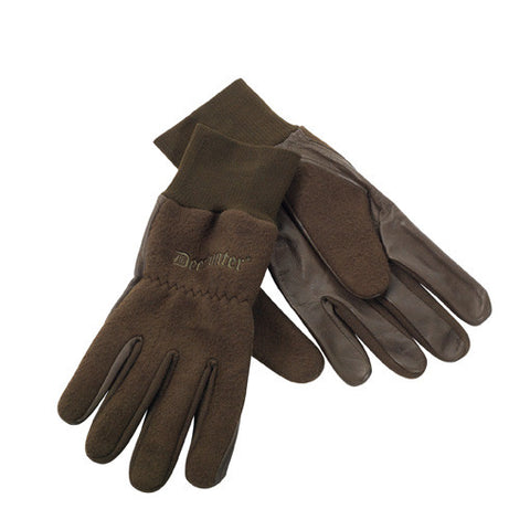 Fleece Gloves w. Leather 8761 376 95
