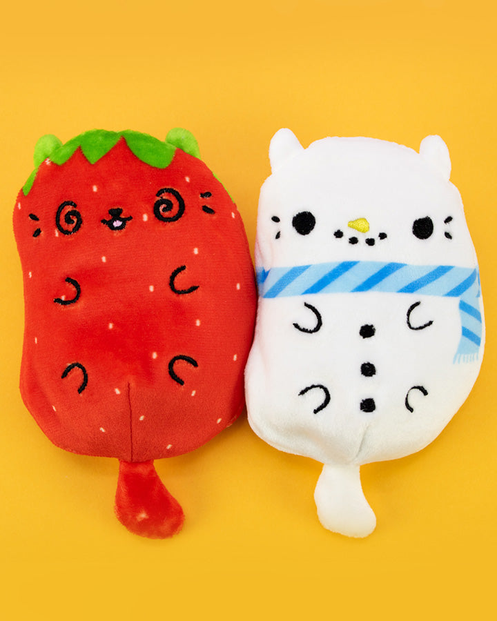 Cats Vs Pickles: Pawberry & Snowcat 2-Pack