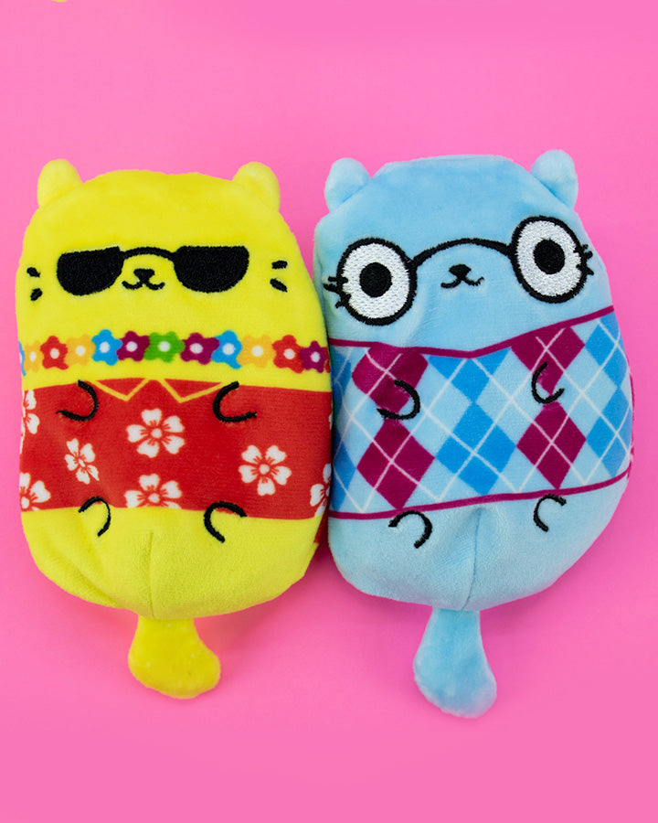 Cats Vs Pickles: Aloha Cat & Mr Argyle 2-Pack