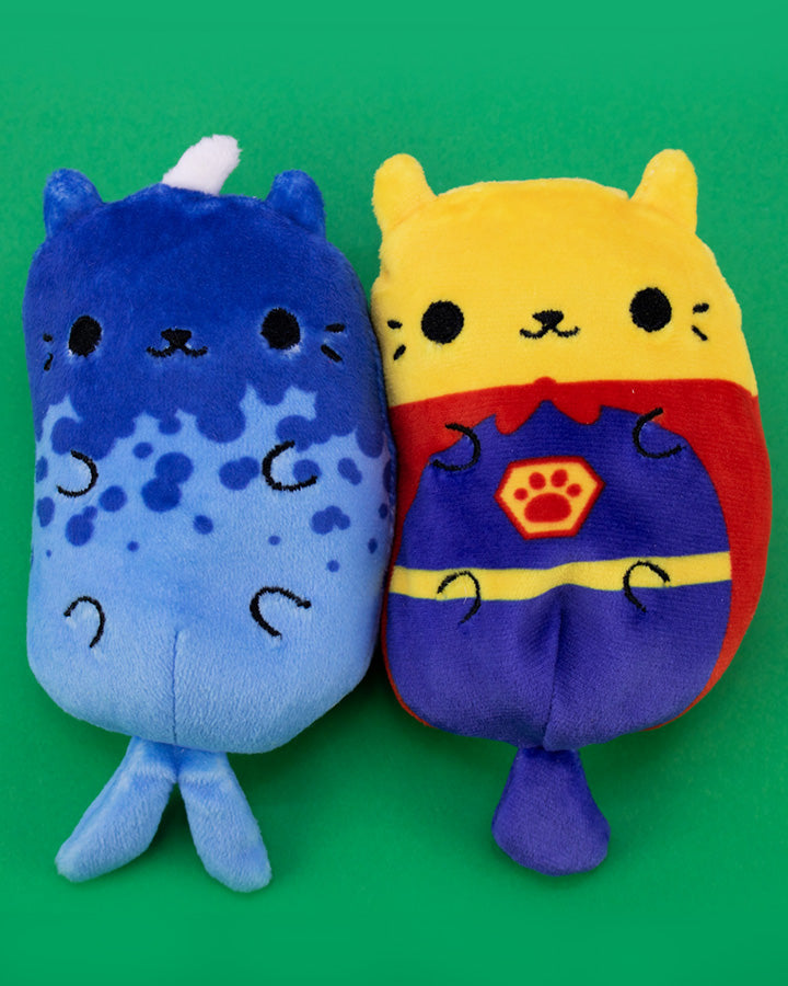 Cats Vs Pickles: Kitty Narwhal & Super Cat 2-Pack