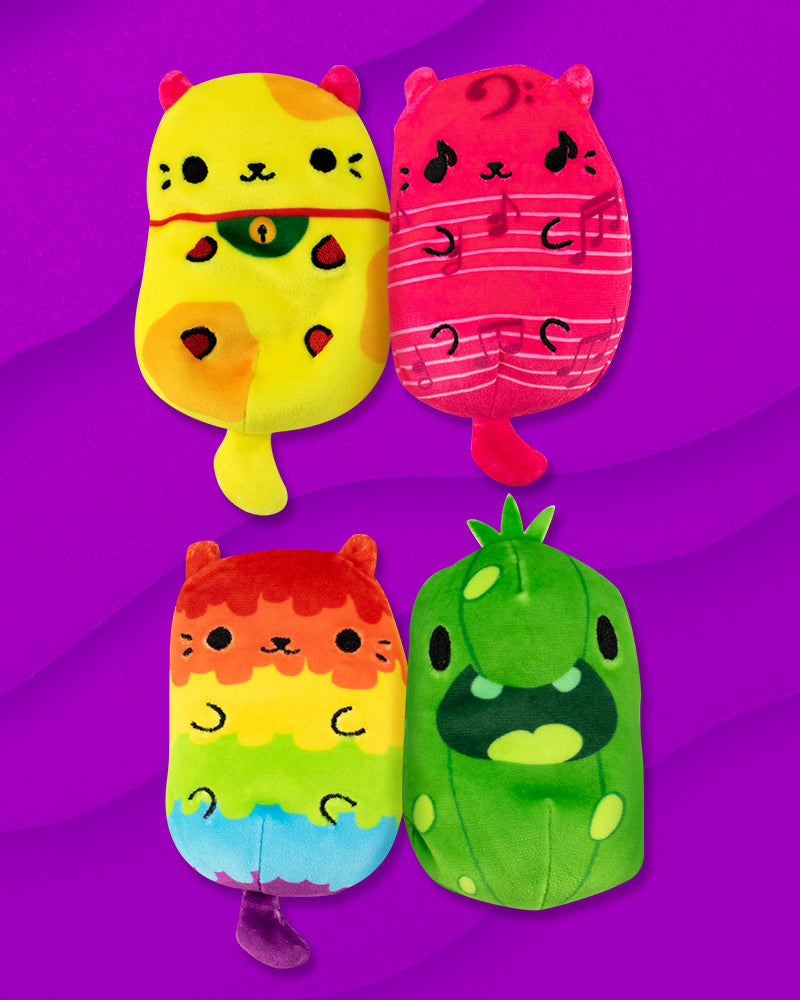 Cats Vs Pickles: COLORFUL 4 Pack