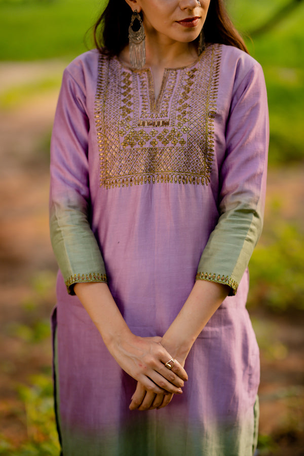 Zeenat Aari Embroidered Kurta