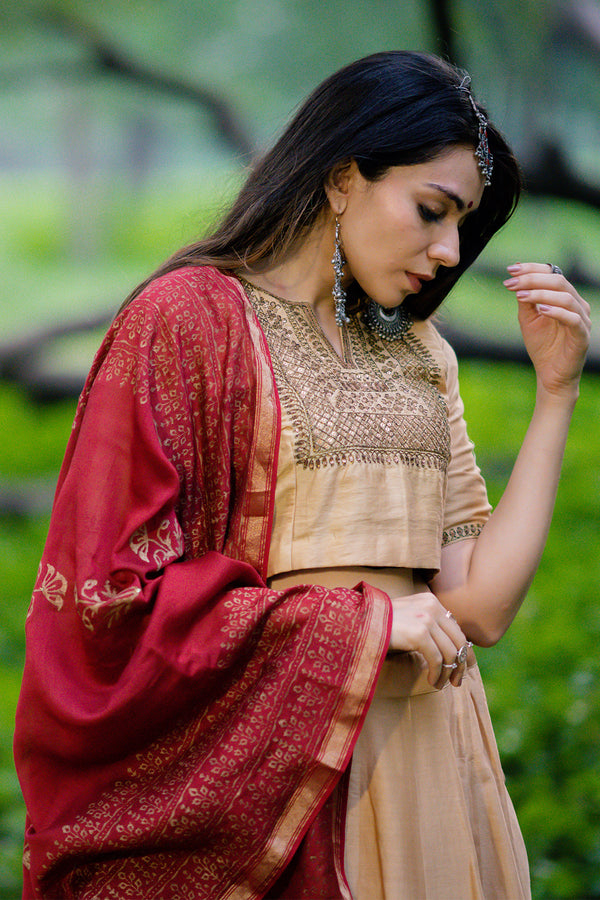 Mehtab Aari Embroidered Blouse