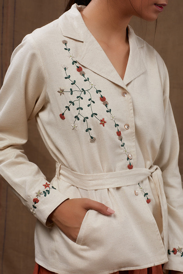 Pearly Floral Jacket