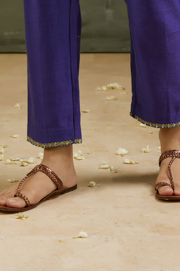 Maharani Hand Embroidered Pant