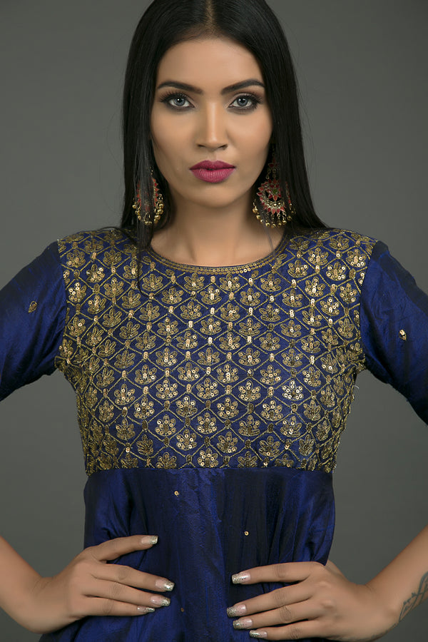 Shahi Aari Embroidered Anarkali