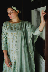 Hira Ghera Kurta Set with Dupatta (Set of 3)