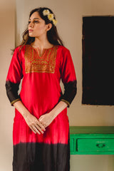 Naaz Aari Embroidered Kurta