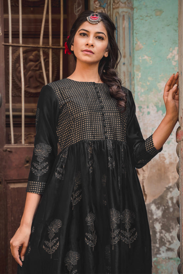 Inayat Chanderi Dress