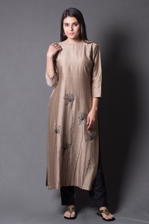 Beige Dandelion Kurta & Pant (Set of 2)