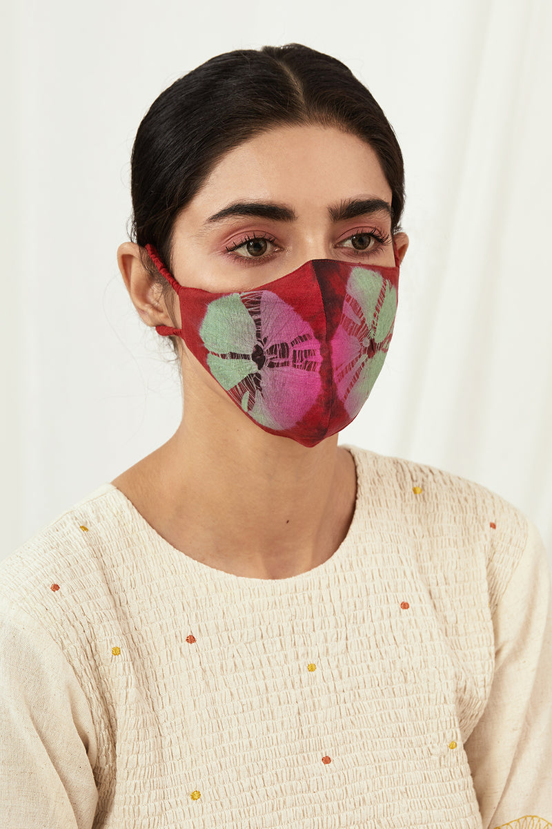 Navras Assorted Tie Dyed Masks (Set of 8)